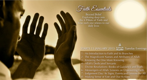 2013 Course Posters (Phase 1) Faith Essentials